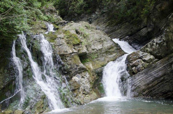 Результат пошуку зображень за запитом шешоры серебряные водопады